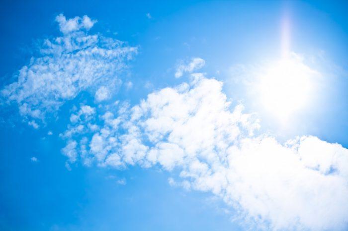 太陽、真夏